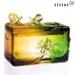 【tittot 琉園】今生典藏 琉璃 擺飾 置物盒