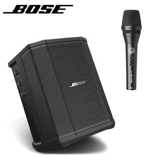 【BOSE 美國品牌】S1PRO 擴聲音響 藍芽喇叭 內含電池公司貨保固 搭配AKG P5S(贈保護袋+麥克風導線)