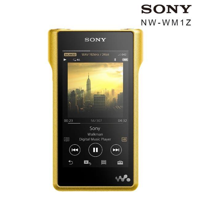 【SONY 索尼】NW-WM1Z 256G 頂級音樂播放器 Walkman 數位隨身聽(台灣公司貨)