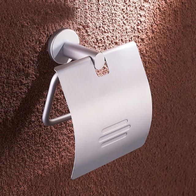 【ROYALLIN 蘿林嚴選】免打孔廁所衛生紙捲紙架(免打孔)