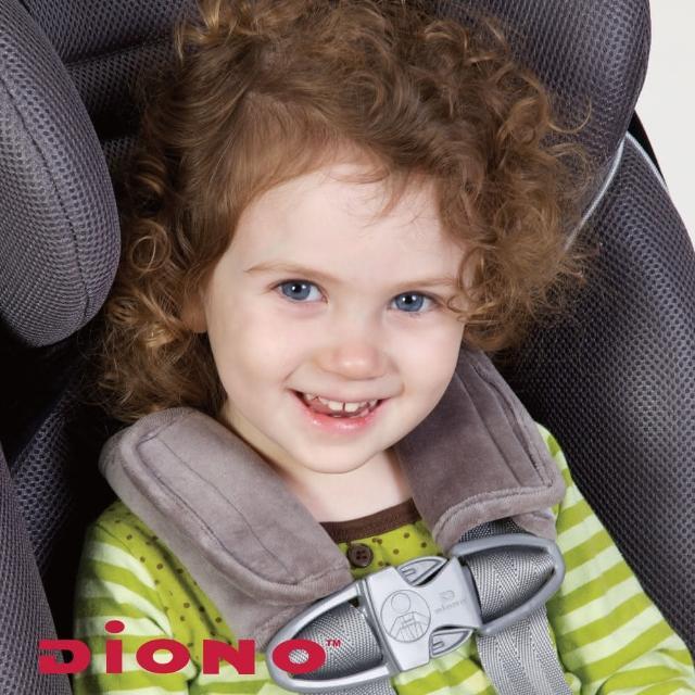 【Diono】安全帶護套-2入(灰)