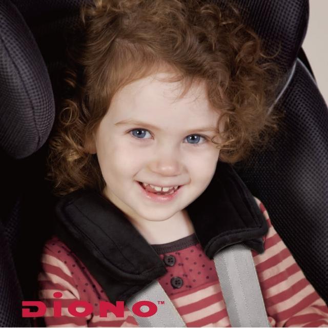 【Diono】安全帶護套-2入(黑)