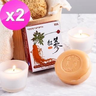 【韓國吉品】頂級紅蔘皂100克(2入)