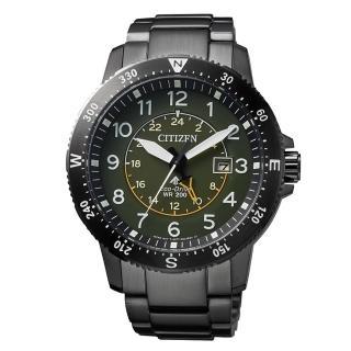 【CITIZEN 星辰】PROMASTER登峰造極光動能腕錶(BJ7095-56X)