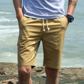 【SKISPORTS】嚴選潮流棉質短褲(卡其D13205-01)