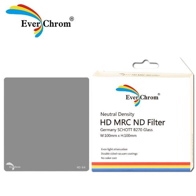 【EverChrom】ND64方形專用減光鏡―內附磁鐵框100x100mm