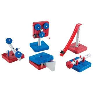 【Learning Resources】簡易機械原理組  科學遊戲 感官觀察幼兒園保姆(益智成長 邏輯建構 原裝進口)