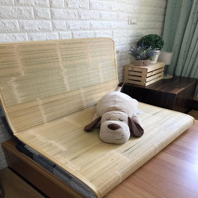 【AndyBedding】MIT鋪棉刮青竹蓆床墊-標準雙人5尺(竹蓆床墊)/