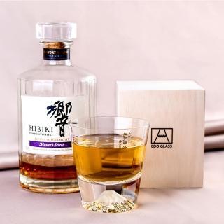 【田島硝子】日本手工吹製威士忌富士山杯(TG15-015-R)