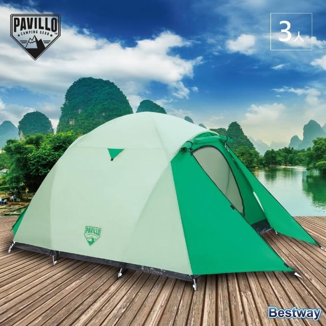 【Pavillo】Cultiva 開拓 3人帳(露營 快速搭建 家庭適用 紗網 遮雨棚 八角形)