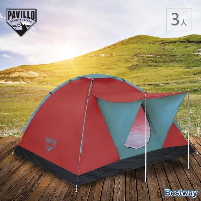 【Pavillo】Range 靶3人帳(露營 快速搭建 家庭適用 紗網 門口遮雨棚)