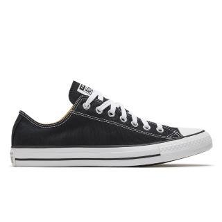 【CONVERSE】ALL STAR OX 男女休閒鞋-M9166C 黑低筒