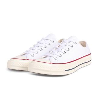 【CONVERSE】CHUCK 70 OX男女休閒鞋-162065C 白