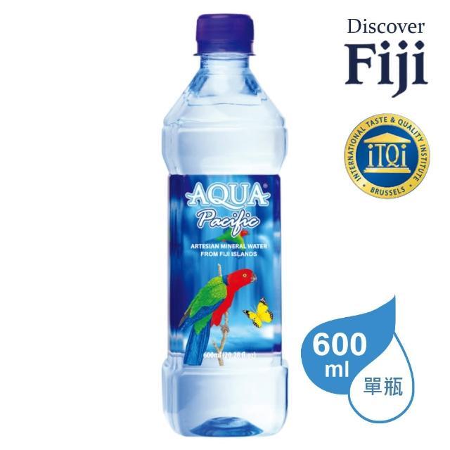 【AQUA PACIFIC】斐濟太平洋純淨天然礦泉水(600ml/瓶)