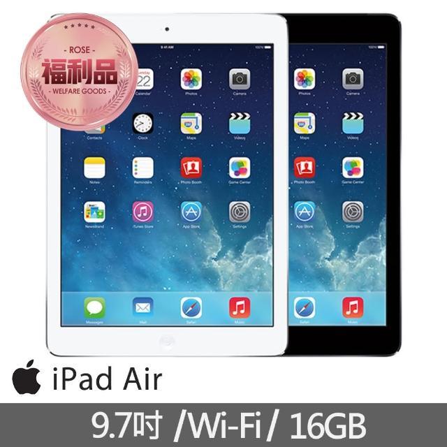 【Apple 蘋果】福利品 iPad Air Wi-Fi 16GB 平板電腦(A1474)