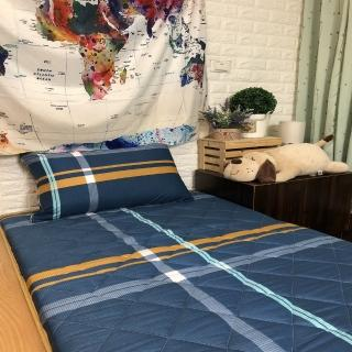 【AndyBedding】MIT鋪棉刮青竹蓆床墊-單人3尺(珍愛永恆)