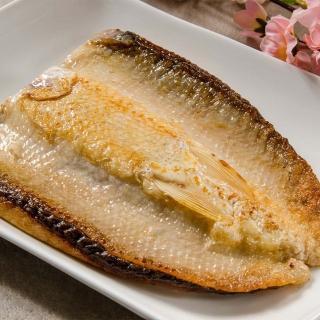 【鮮綠生活】台南老饕XXL無刺虱目魚肚8片增量版(300g/片)