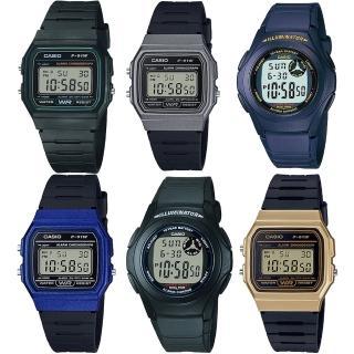 【CASIO 卡西歐】必備錶款特惠加購(均一價)