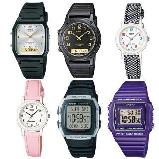 【CASIO 卡西歐】實用錶款特惠加購(均一價)