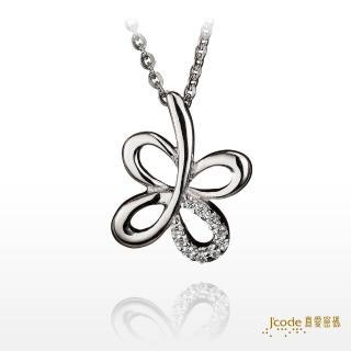 【J'code 真愛密碼】快樂飛舞-純銀墜子+鋼鍊(時尚銀飾)
