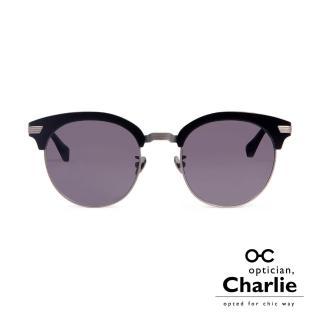 【Optician Charlie】韓國亞洲專利 RP系列太陽眼鏡(黑  RP_AC BK -明星款)