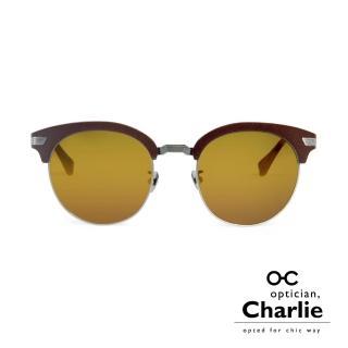 【Optician Charlie】韓國亞洲專利 RP系列太陽眼鏡(琥珀+水銀黃鏡面  RP BN)