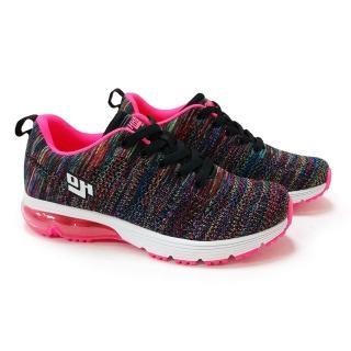 美國OHHO炫彩飛織氣墊鞋