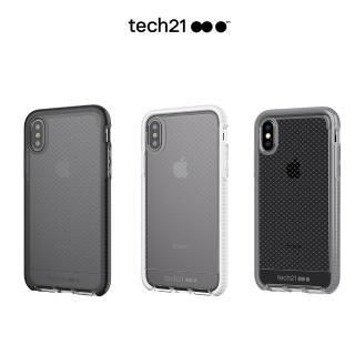 【tech21】英國Tech 21超衝擊EVO CHECK iPhone X 防撞軟質格紋保護殼(EVO CHECK)