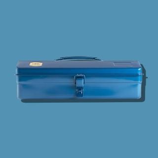 【Trusco】山型單層工具箱-鐵藍(單層工具箱)