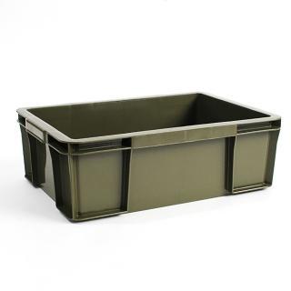 【Trusco】塑膠收納盒(大)-墨綠(塑膠收納盒)