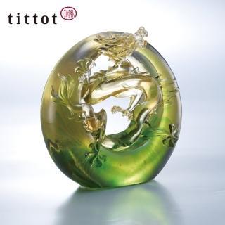 【tittot 琉園】龍騰運轉  龍 擺飾