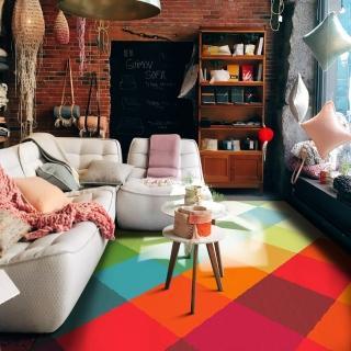 【范登伯格】SWING 玩色進口地毯-彩格(160x230cm)