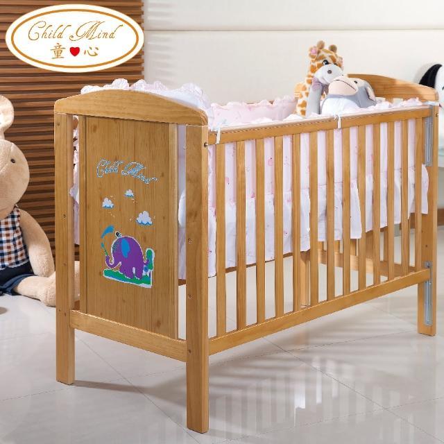【Child Mind 童心】三合一多功能嬰兒床-小畫象(台規中床)