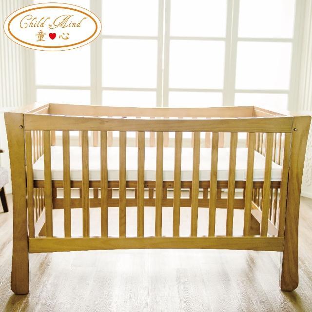【Child Mind 童心】三合一多功能嬰兒床-布萊恩(美規大床)