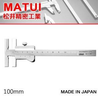 【MATSUI】PICO T型游標卡尺 100mm(游標卡尺)