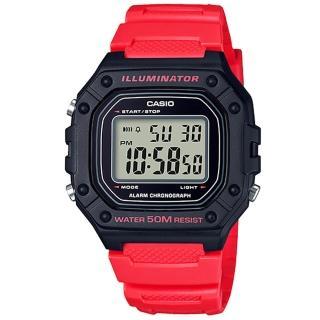 【CASIO 卡西歐】卡西歐多功能野戰電子錶(多色可選)