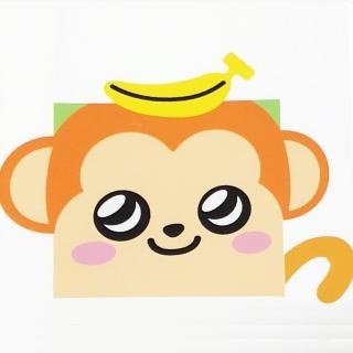 可愛動物系列-M1香蕉猴(1幅)