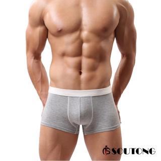 【SOUTONG】莫代爾舒適親膚透氣型男平口褲(1件組)