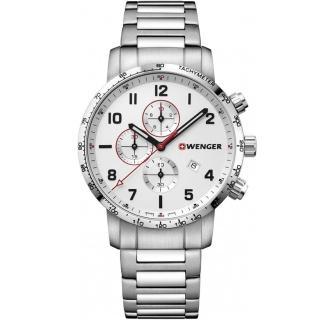 【WENGER 威戈】Attitude Chrono計時時尚腕錶(01.1543.110)