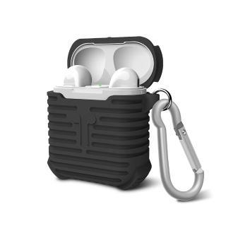 Apple AirPods 藍芽耳機抗震保護套(時尚造型 多種色彩供選擇)