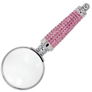 【ARTEX】耀動水鑽放大鏡 施華洛世奇元素 粉鑽