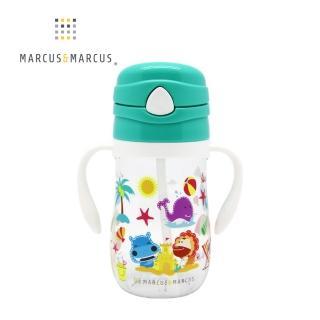 【MARCUS&MARCUS】動物樂園Tritan吸管學習杯(大象)