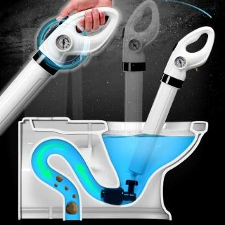 【EZlife】氣密式高壓馬桶水管疏通神器