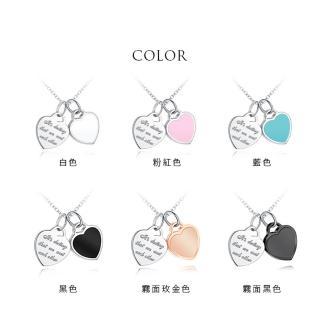 【GIUMKA】甜蜜相遇項鍊 德國珠寶白鋼  單個價格 MN05210-2(6 色任選)