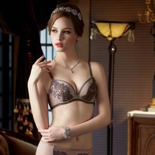 【曼黛瑪璉】Marie One 刺繡蕾絲內衣  B-D罩杯(高雅紫)