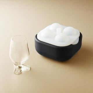 【POLAR ICE】極地冰球 2.0 品酌組(四入冰球+杯兩件組)