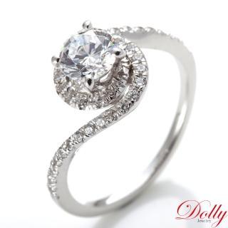 【DOLLY】旋舞 晶鑽銀飾戒指
