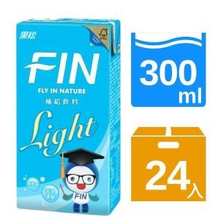 【黑松】FIN健康補給飲料-Light低熱量(300ml X24入)