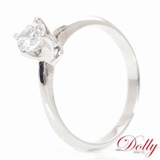 【DOLLY】甜美 晶鑽銀飾戒指