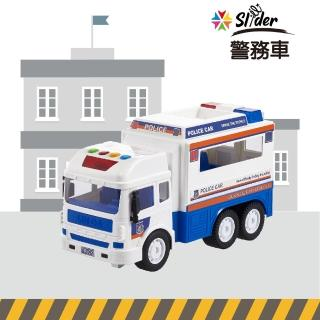 【Slider】聲光磨輪工程車(警務車)